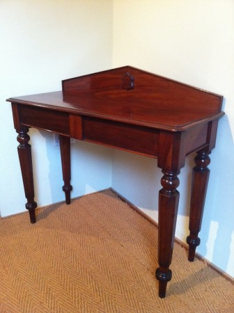 macintosh antiques an early victorian mahogany hall table c 1850